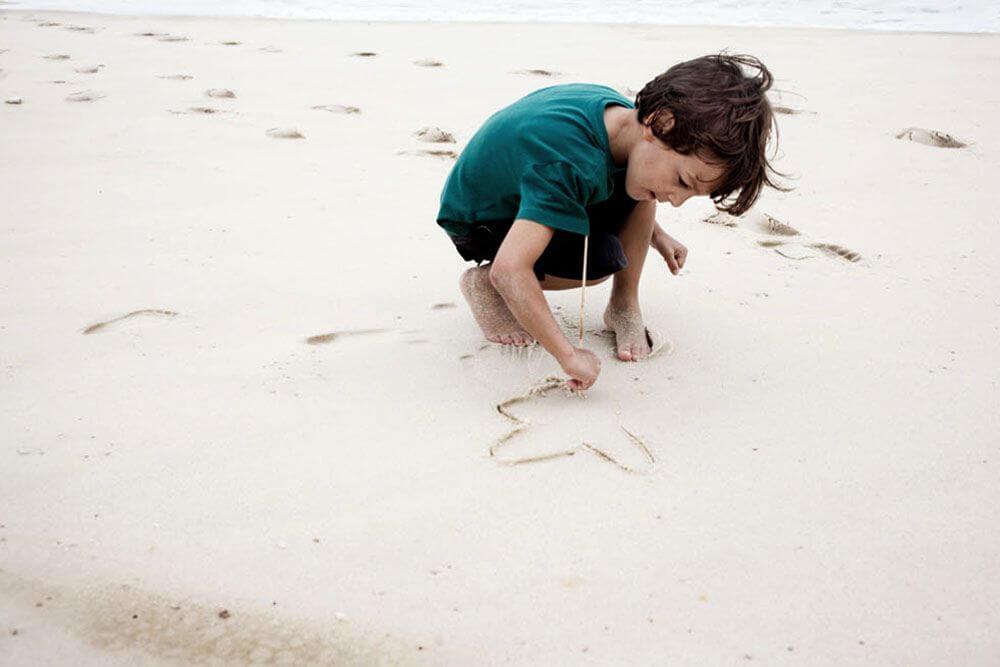 sand-drawing