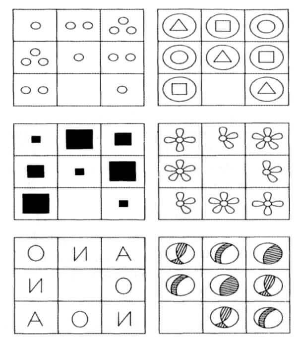 6 головоломок из IQ-теста